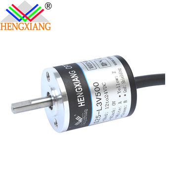 mini 25mm encoder S25 rotary encoder incremental sensor 500 ppr 360ppr