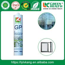 Waterproof Non Toxic Acetic Cure Glass Silicone Sealant