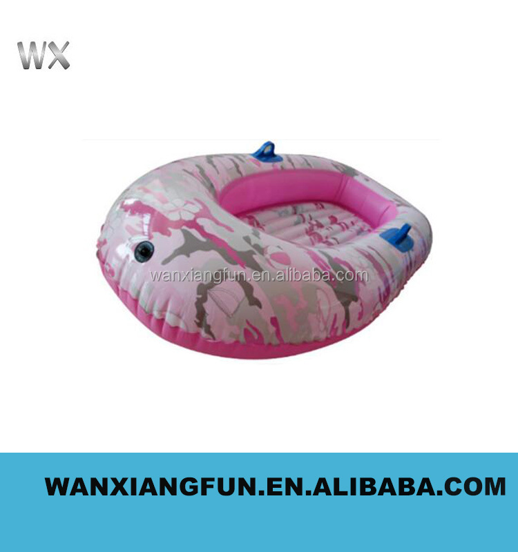 2016 new design customized inflatable water tube factory price inflatable canoe