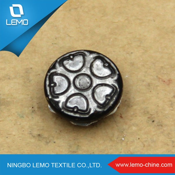 Metal Snap Button Jewelry For Zamak Button
