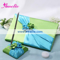 AGB09 Wedding guest book marriage decoration