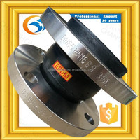 Complete in specifications flanged rubber flexible bellows for fire fighting
