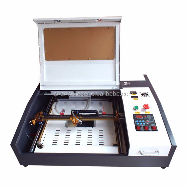 rubber stamp wood acrylic <strong>paper</strong> 40w laser engraving machine for sale