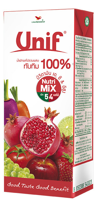 100% Mixed Vegetable & Fruit juice with Pomegranate