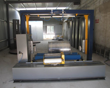 stretch wrapper packing rolls horizontal wrapping machine