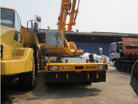USED KATO KR25H-V6 25 TONS ROUGH TERRAIN CRANE FOR SALE