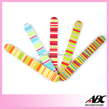 Colorful Double Side Pedicure Nail File
