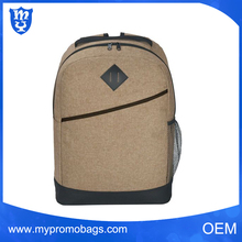 Outdoor high school bags online, sports backpack with side mesh pocket for water bottle