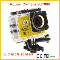 Action camera SJ7000 with 2.0 lcd hand held video camera have wifi sports hd dv 1080p h.264