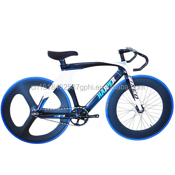 700C Carbon Racing Bike Track Bike Fixed Gear Bicycle