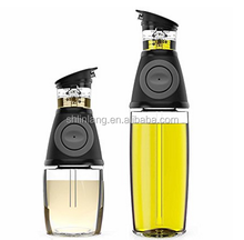 Olive Oil Dispenser Bottle - 17 Oz Oil Bottle Glass with No Drip Bottle Spout