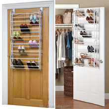Wholesale metal over door Shoe Rack organizer mounted Space Saving easy to assemble
