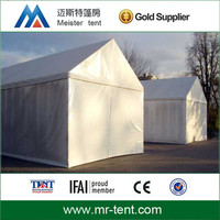 Air conditioned tent changing room with pvc walls