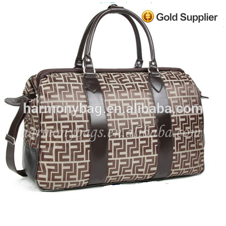 New product khaki golf polo classic weekender travel bag