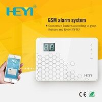 Wireless Wired LCD Keypad GSM Home House Office Burglar Security Alarm