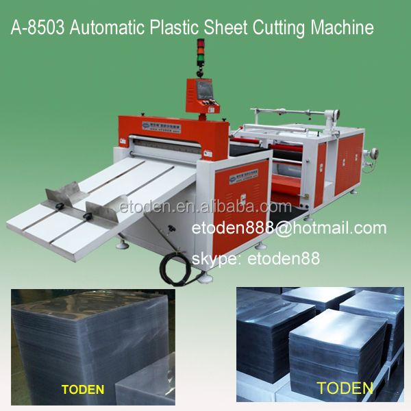 pvc roll to sheet cut machine