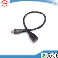 charging and sync data cable Micro USB Male to Micro USB Female extension wire