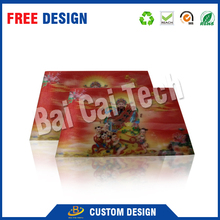 Wholesale high-level strong vision effect custom lenticular 3d pictures of animals