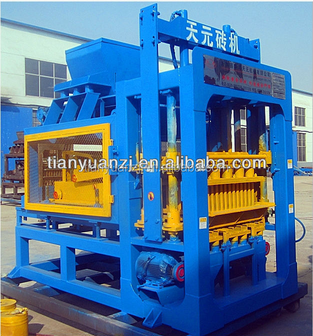 Tianyuan factory siemens motor brick machinery made in china automatic Durable