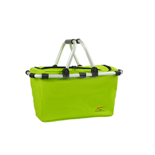YY-23XC-2 Shopping basket cooler collapsible picnic basket wholesale
