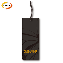 Custom Cheap Designer Clothing Brand Hang Tag Printing Logo For Garment