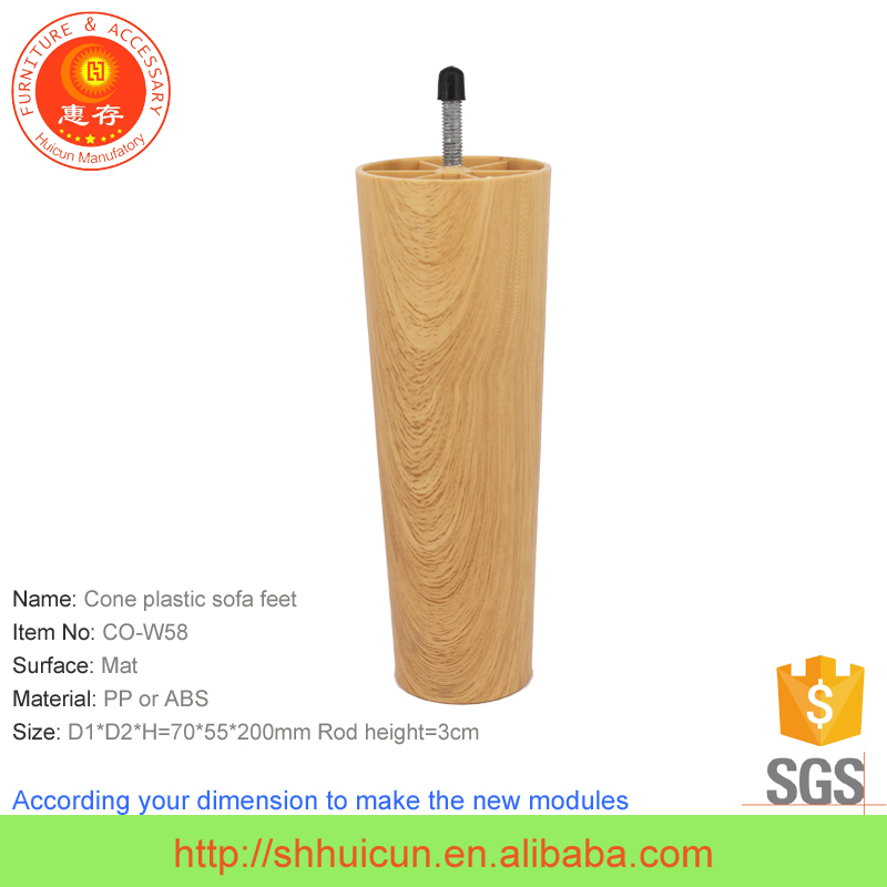 SGS test Wooden Finished Sofa Couch Foot Leg