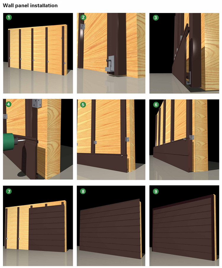 Exterior Wall Panel Wood Plastic Composite Board Facade Boards For Outdoor  Use Weather Resistant WPC Panel