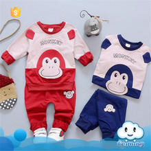 AS-424B wholesale kids baby 2-pieces clothes set korean children clothing baby boutique clothing