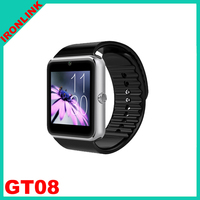 Factory Price! 2015 New Fashion Bluetooth Smart Watch with business watch .calling function smart watch for samsung android