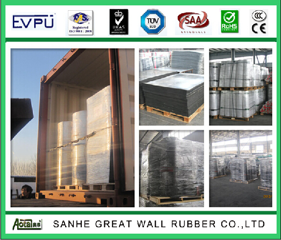Oil resistant NBR Industrial rubber sheet/roll for gasket