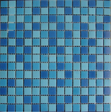 foshan mosaic glass tiles chip size 20x20mm swimming pool tile