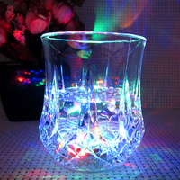 Led eco-friendly modern whisky glass