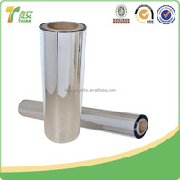 Plastic Metalized Film with Mirror Effect for Thermal Laminating usage