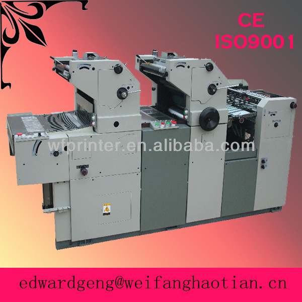HT256 double color recycled solna offset printing machine