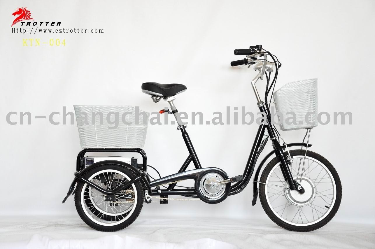green power 3 wheel electric bicycle 250W