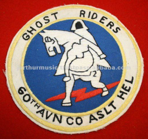 60TH AVIATION ASSAULT HELICOPTER COMPANY VIETNAM POCKET PATCH