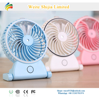 Portable Rechargeable Water Spray Cooling Mist Fan