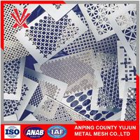 High-Grade Galvanized Perforated Metal Panel