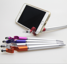 Novelty Handy stand for phone and pad with stylus pens
