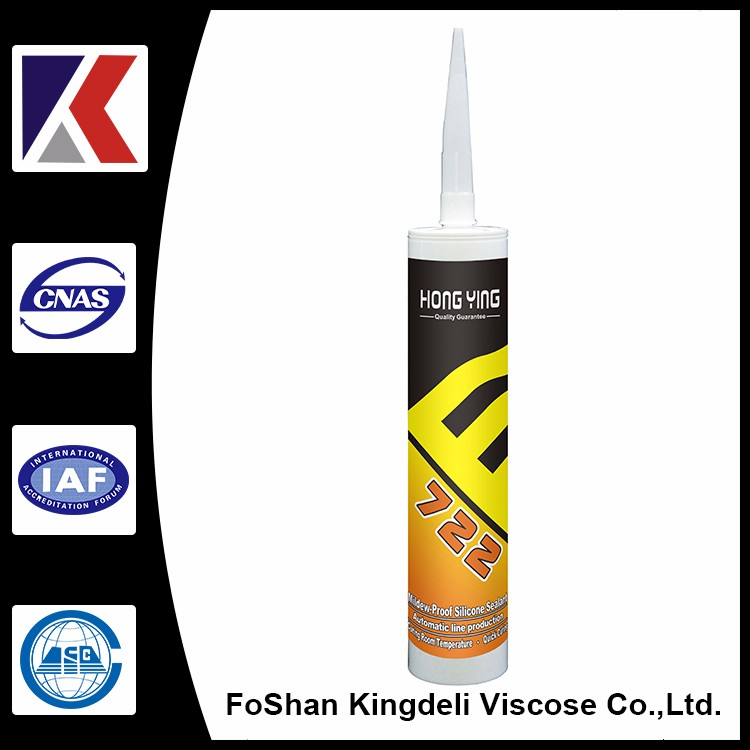Foshan HONGYING brand Excellent antifungal silicone sealant for bathroom