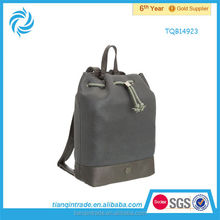 drawstring school leather bags for teenage girls