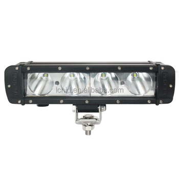 LED working light bar for road vehicle atvs trucks bus LED light bar Liancheng 10 inch 40w car led flood lighting 12v 24v ip68