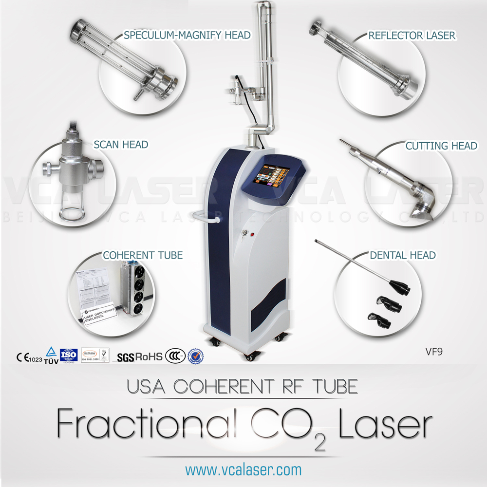 fractional CO2 laser skin tag removal machine