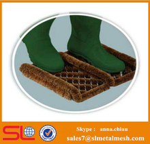 Flexible Steel Mats Galvanized Wire Coir Brush Mat