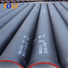 Water pressure test ductile iron pipe weight per meter