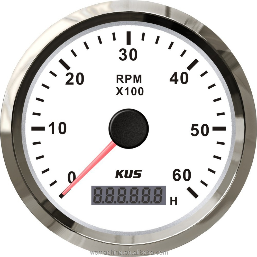 how to put a tachometer on a diesel