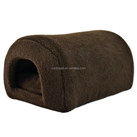 High quality Popular Customized brown soft dog house