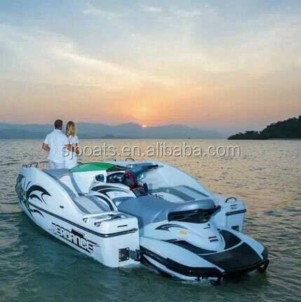 Competitive Mini passenger yacht match with various models Jet Ski