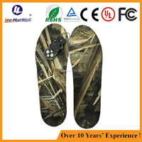 Wholesale rechargeable battery heated insole electric heated insole battery foot warmer