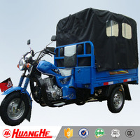 China Supplier Power Rear Axle 3 Wheel Motorcycle With Cabin for Sale